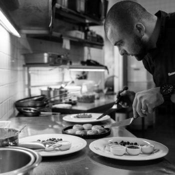 One day with the Chef Alexey Shemenkov